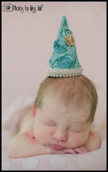 Newborn Birthday Hat Girl Newborn Session Plymouth Michigan Photographer