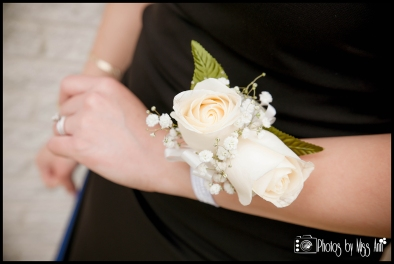 Wrist Corsage Ivory Flowers Islamic Center of Greater Toledo Photos by Miss Ann