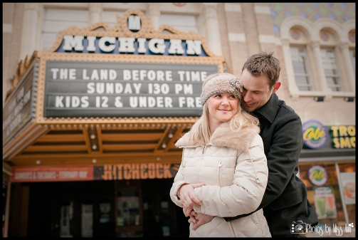 Ann Arbor Engagement Session Photos by Miss Ann