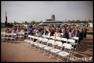Michigan Wedding Photographer Photos by Miss Ann Infinity Yacht Wedding