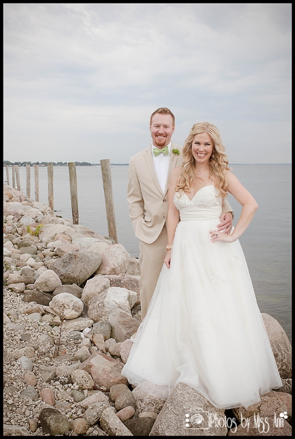 Yacht Wedding by Michigan Wedding Photographer Photos by Miss Ann