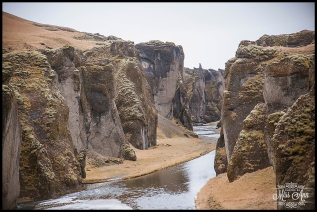 Iceland Canyon Fjadrargljufur Iceland Wedding Locations