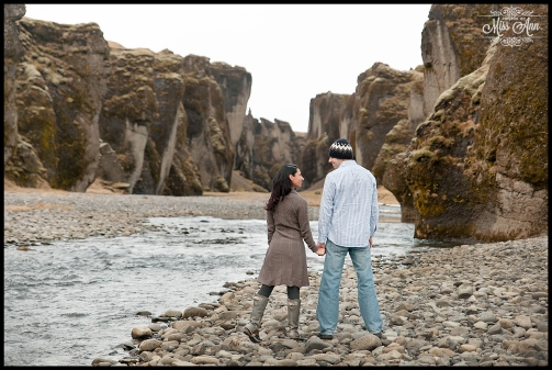 Iceland Wedding Anniversary Fjadrargljufur Canyon Iceland Wedding Photographer
