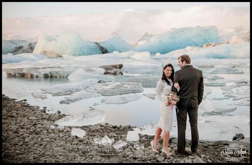 Iceland Wedding Jokulsarlon Glacier Lagoon