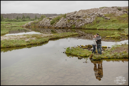 Iceland Pre Wedding Session Thingvellir National Park