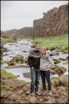 Iceland Wedding Waterfall Engagement Session