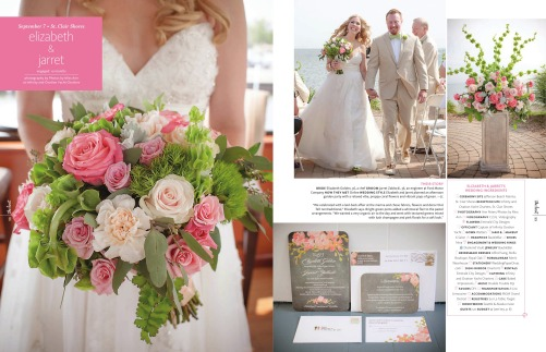 The Knot Magazine Features Photos by Miss Ann